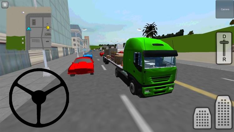 Truck Driver 3D: City