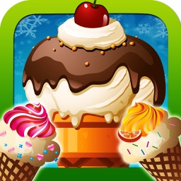 Frozen Goodies Fun Ice Cream Cone and Smoothie Maker Games for Kids