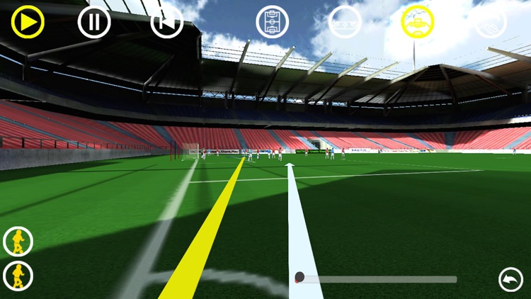 Football 3D Phone screenshot-2