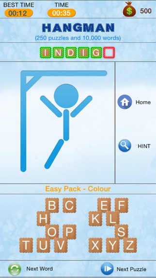 Hangman - Search and Crack Hidden Word Puzzle-3