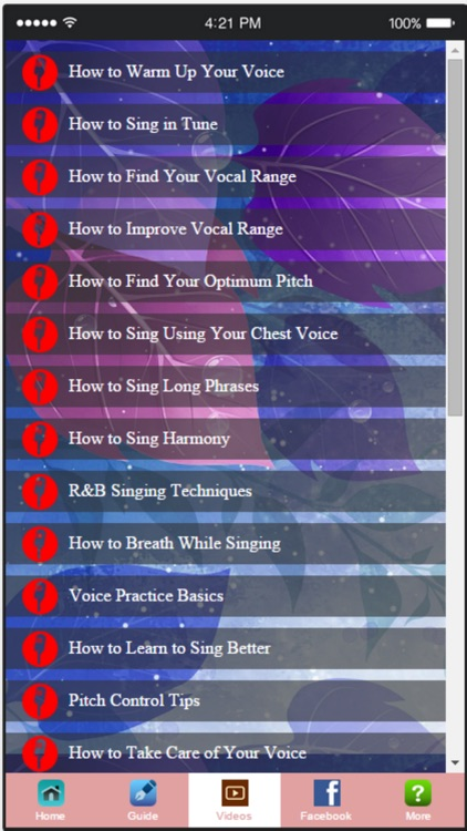 Singing Lessons - Becoming a Singing Master