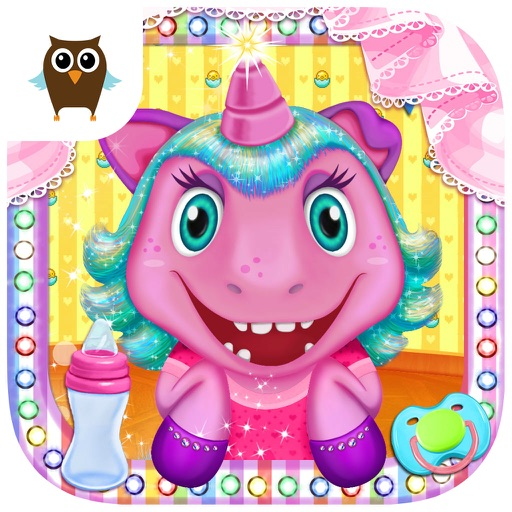 My Baby Unicorn Care – Dress Up, Bath, Feeding & Bed Time icon