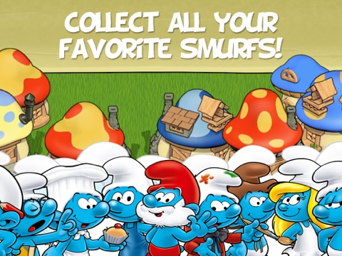 Smurfs' Village and the Magical Meadow для iPad