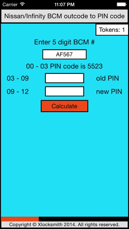 NISSAN/INFINITY BCM TO PIN CONVERTER screenshot-1