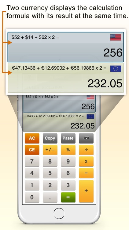 ExchangeCal - currency converter calculator screenshot-0