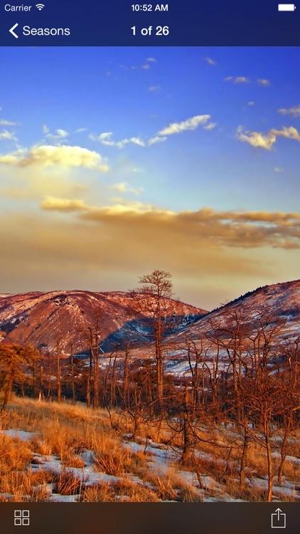 Seasons: Wallpaper Photography Backgrounds screenshot-4