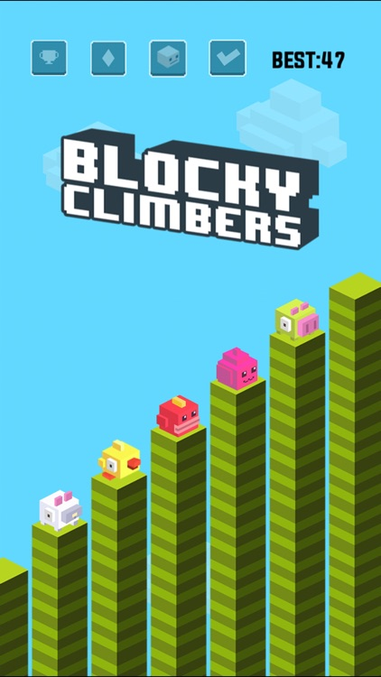 Blocky Climbers screenshot-0