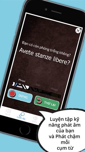 Từ điển Ý - Sách cụm từ ngoại tuyến miễn phí kèm thẻ từ và giọng nói bản ngữ