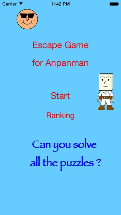 Escape Games for Anpanman
