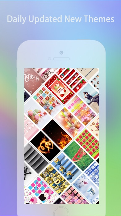 Cool Themes HD for iPhone 6 & 6 Plus - Free screenshot one