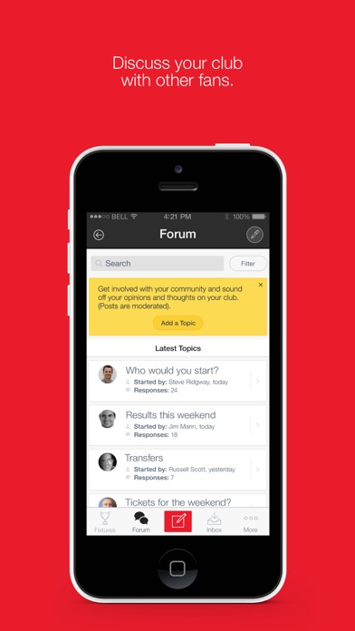 Fan App for AFC Bournemouth screenshot two