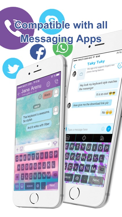 Custom Keyboard Pastel : Cute Color & Wallpaper Themes screenshot-3