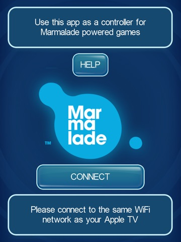 Marmalade Multiplayer Game Controller ipad images