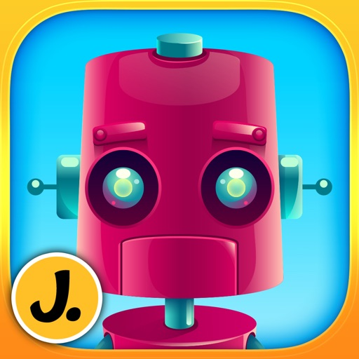 Friendly Robots - puzzle game for little boys, girls and preschool kids