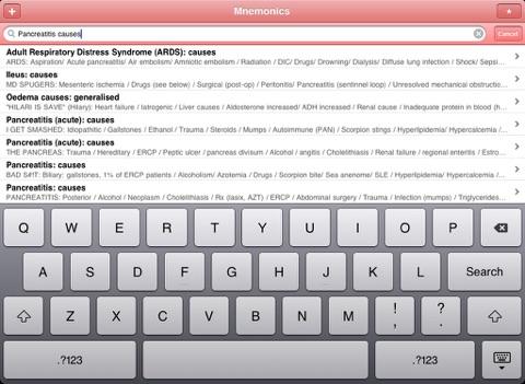Screenshot #6 pour Med Mnemonics
