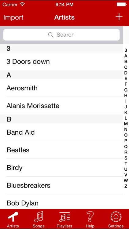 Perfect Guitar Song Book screenshot-3