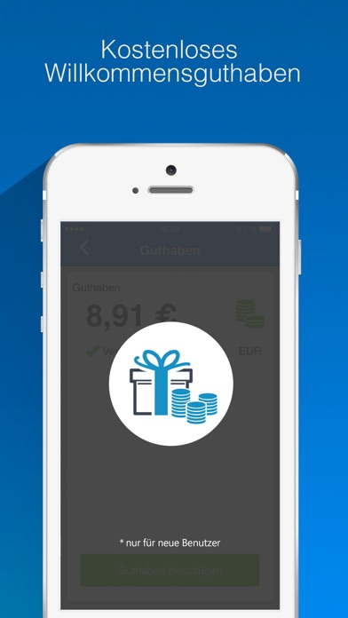 Nubefone: Billige internationale und lokale AnrufeScreenshot von 2