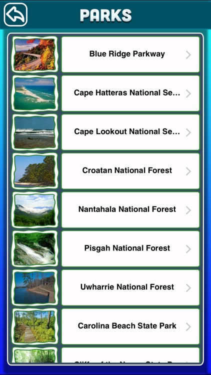 North Carolina National & State Parks
