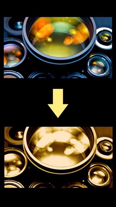 金色レンズ screenshot1
