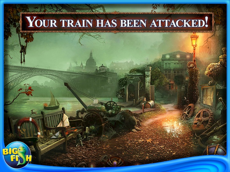 Web of Deceit: Black Widow HD - A Hidden Object Adventure screenshot-0