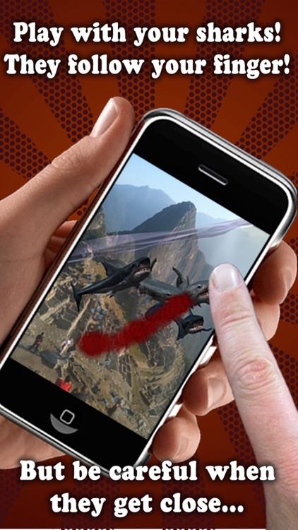 Shark Fingers! 3D Interactive Aquarium FREE