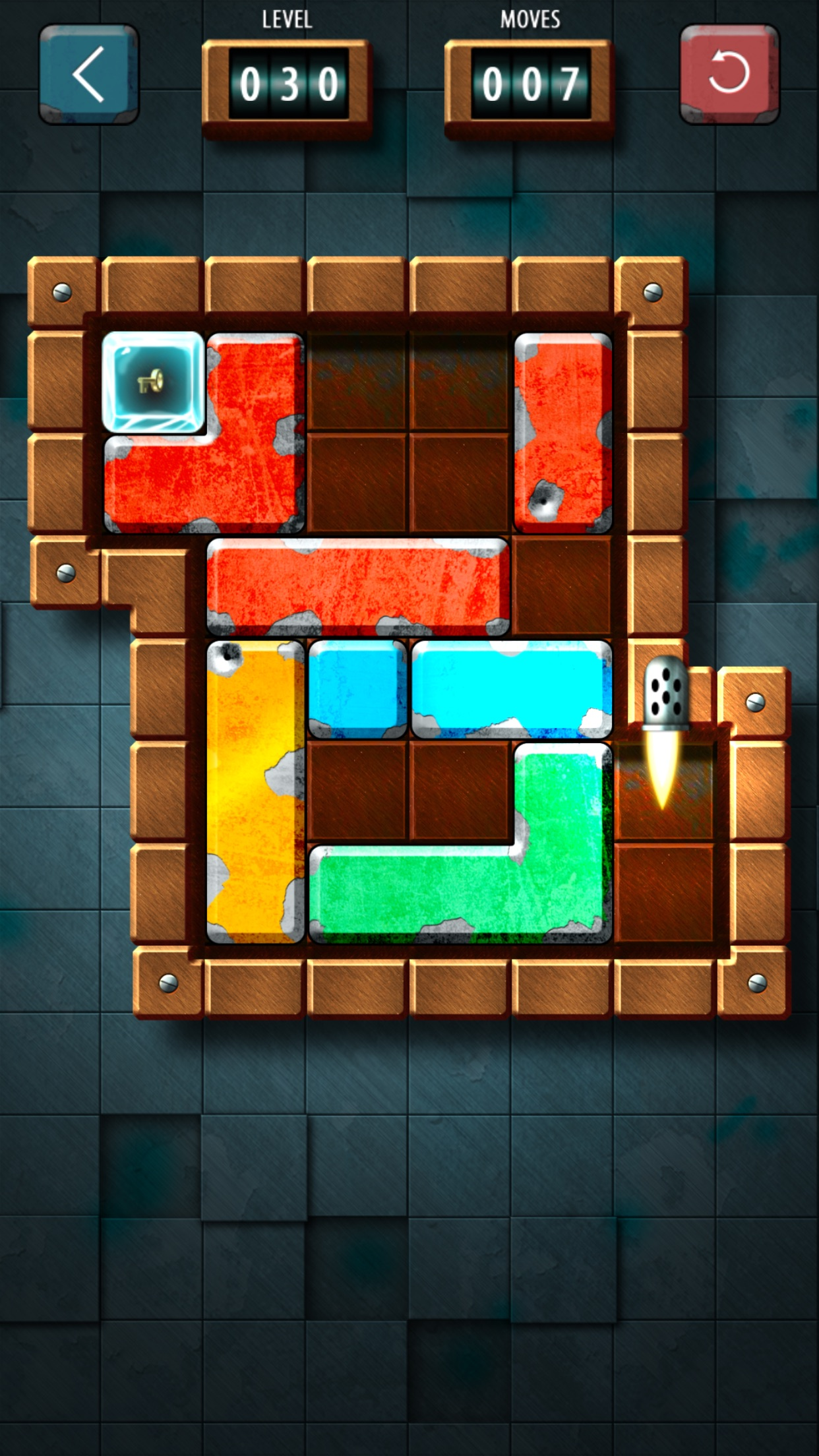 Screenshot do app Slide Tetromino Premium