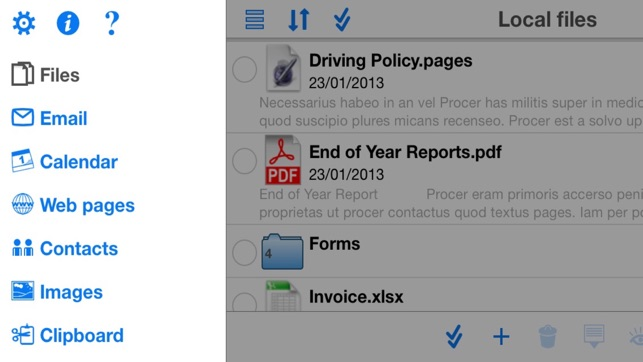 How To Pdf Files To Iphone From Email