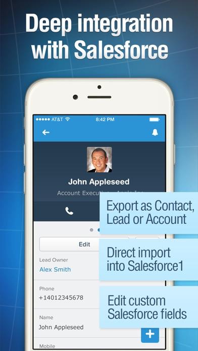 Business Card Reader Screenshot 5