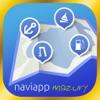 NaviApp Mazury -  żeglarska nawigacja po mazurskich jeziorach