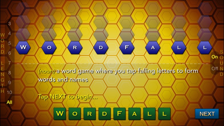 Word Fall - A Game of Falling Words