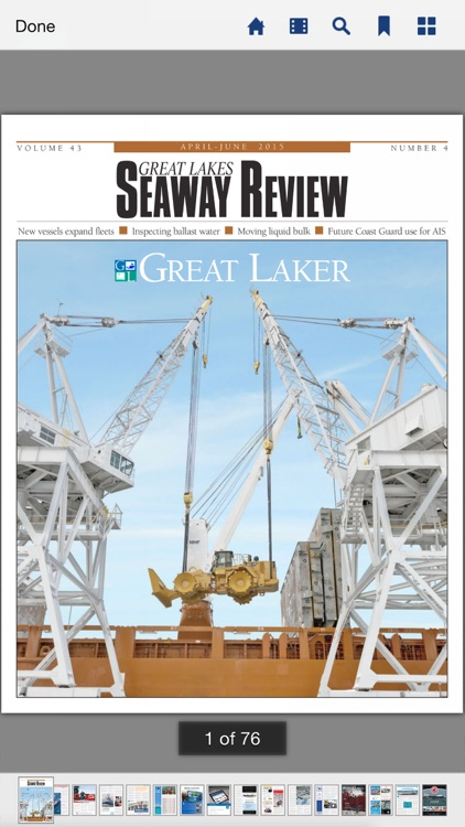 Great Lakes Seaway Review