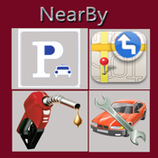 NearBy my Location icon