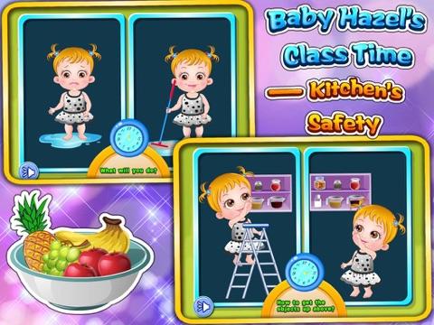 Baby Hazel's Class Time : Kitchen's Safety для iPad