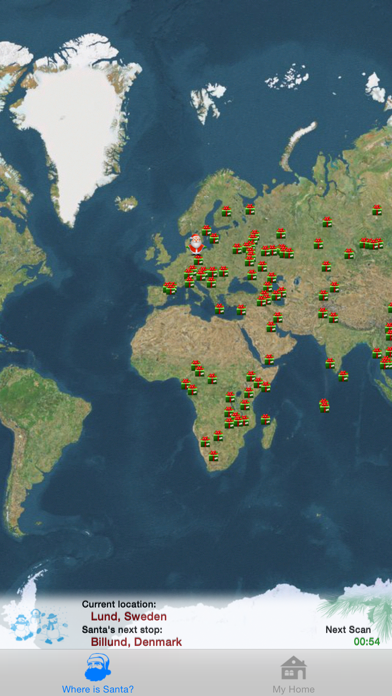 Where is Santa - Santa Tracker Screenshot
