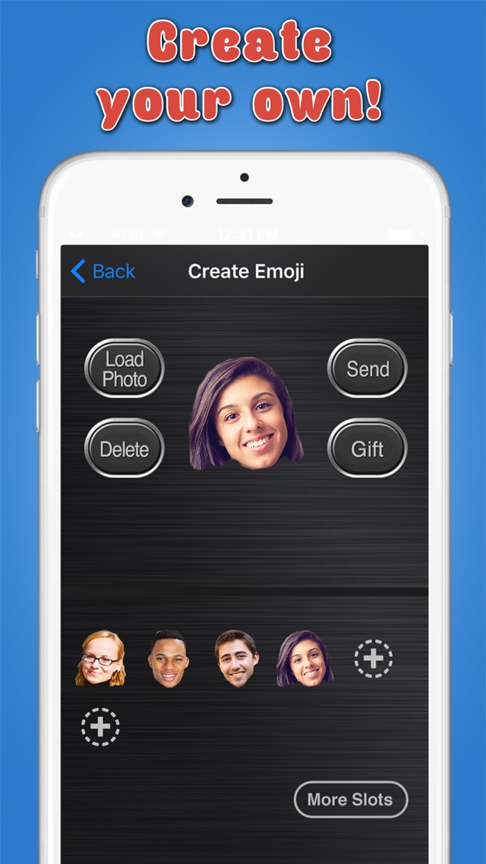 Big Emoji Keyboard - Stickers for Messages, Texting & Facebook Screenshot