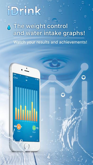 iDrink - Weight Loss and Hydration Tracker!のおすすめ画像3