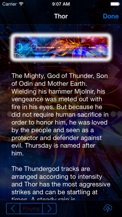 Thundergod - Naturespace Thunderstorm Lightning and Rain Storm Sounds to help you sleep meditate and relax