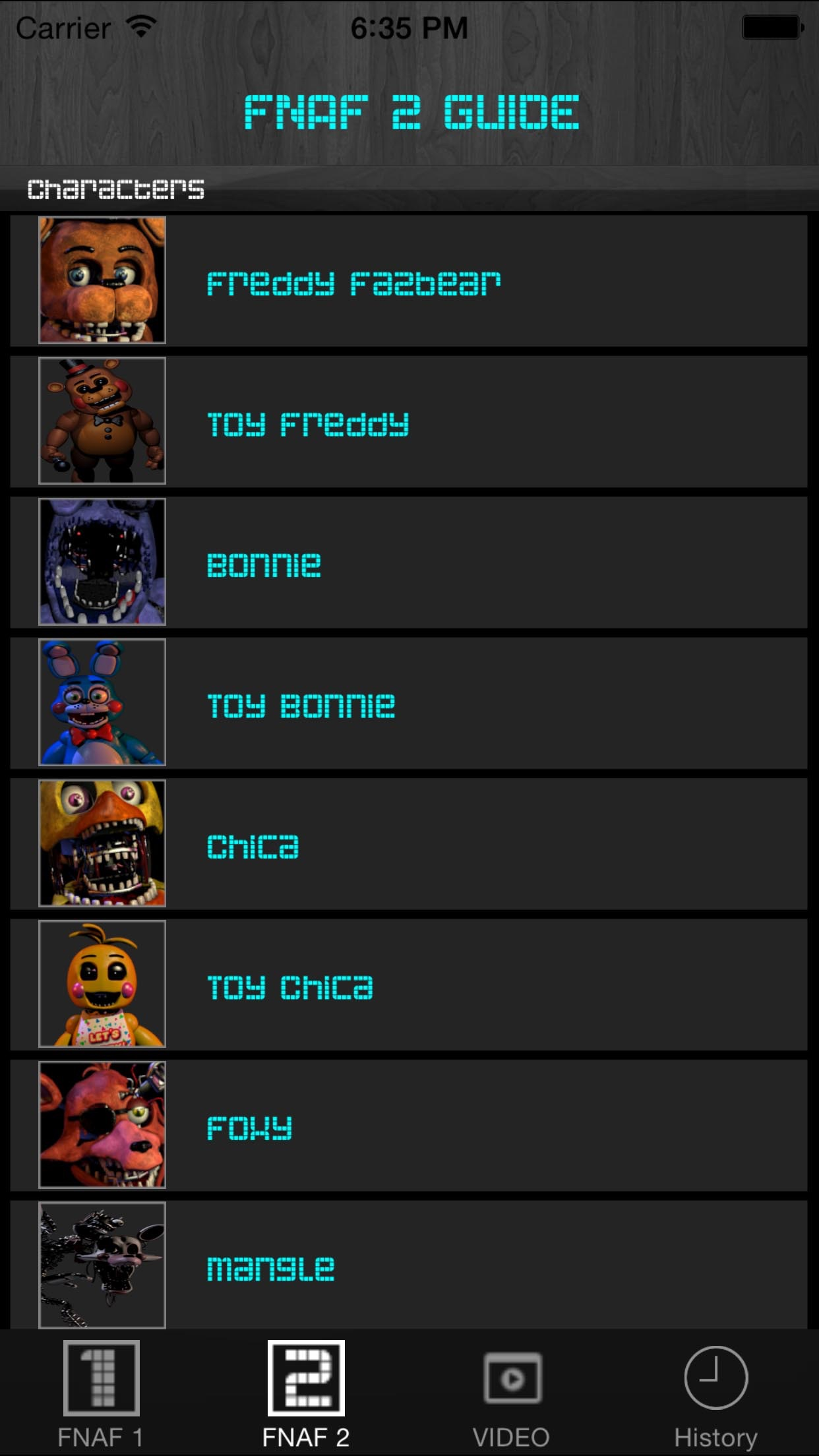 Free Cheats Guide for Five Nights at Freddy's 1 and 2 Screenshot