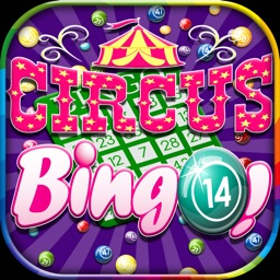 `A High Flying Circus Bingo Bonanza - Daub Free Blackout Cards