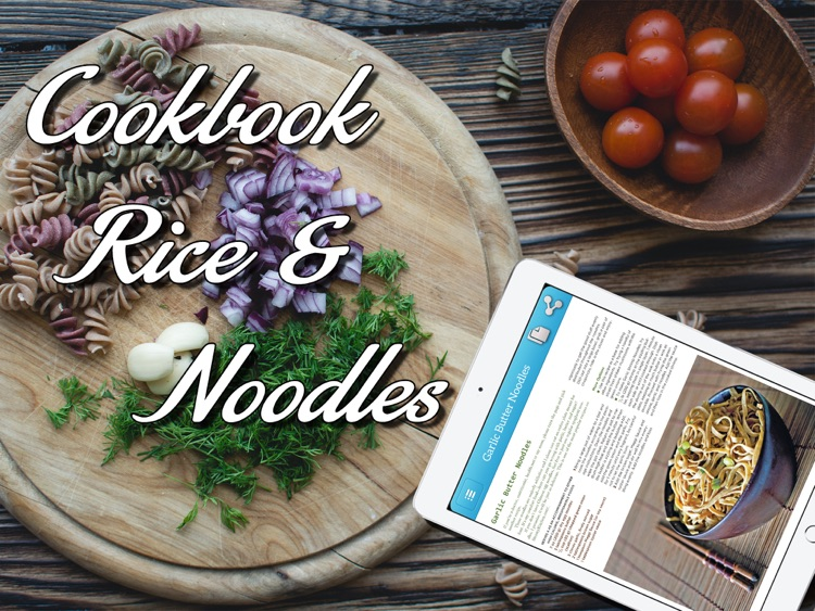 Cookbook - Rice & Noodles for iPad