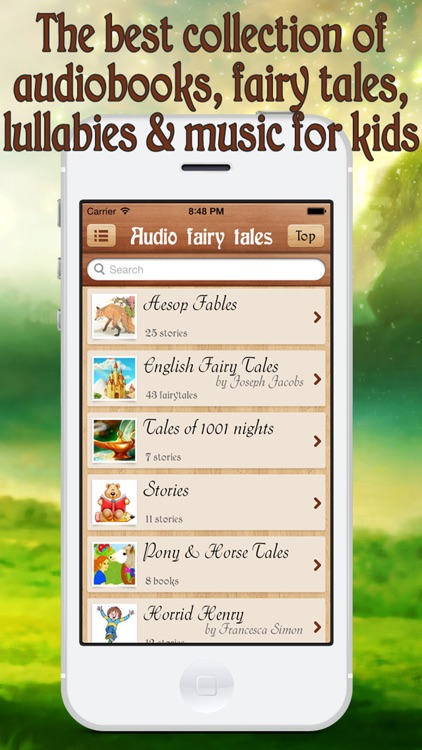 Audiobaby Premium - Audiobooks & music for kids screenshot-0