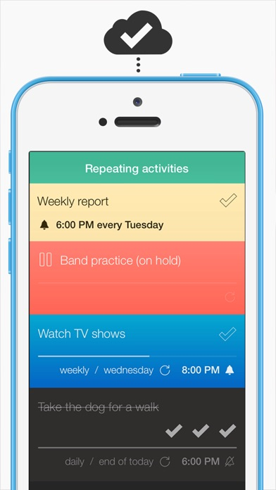 Screenshot #5 for Checklist One - Task Lists, Notes & Reminders