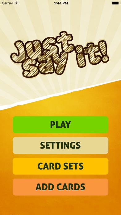 Just Say It! - Charad... screenshot1
