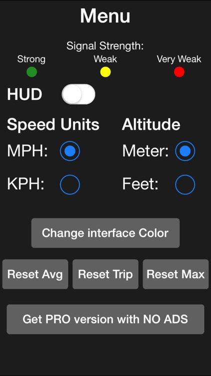 Speedometer. Free - Top Speed, Average Speed, Direction, Elevation, Trip, Fast