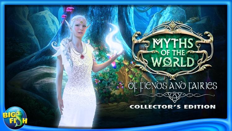 Myths of the World: Of Fiends and Fairies - A Magical Hidden Object Adventure (Full) screenshot-4