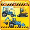 Stefano Frassi - Bagger Spiele für Kinder und Kleinkinder : entdecken Sie die Welt des Bulldozers ! Spiel mit Baggern Grafik