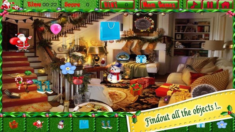 Christmas Eve Find the Hidden Objects