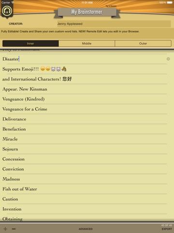 The Brainstormer iPad