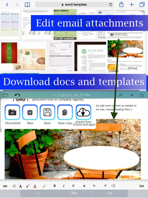 WDocs - Microsoft Office Word Edition doc docx Document Editor screenshot-4