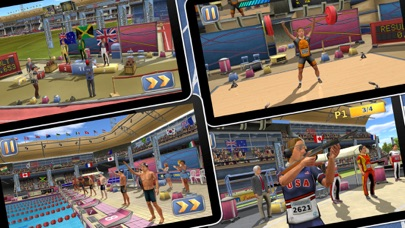Athletics 2: Summer Sports Screenshot